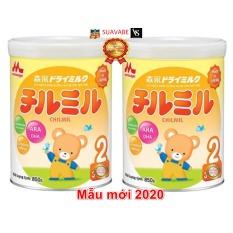 Set 2 hột Sữa Bột Morinaga số 2 850gr (đã tách đai)