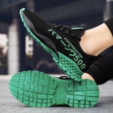 (Có 2 Màu) Giày thể thao nam sneaker – Poerrwmann 500 màu be siêu đẹp