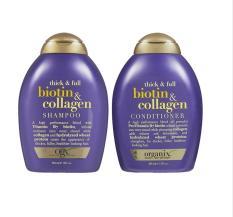 COMBO Dầu Gội và Dầu Xả Bioitin Mỹ- Bộ Dầu Gội Xả Chống Rụng Tóc Biotin Collagen 385ml – HÀNG MỸ