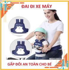 [An Toàn Hơn] Đai ngồi xe máy balo Royal cho bé – giúp bé an toàn khi cùng bạn đi ngoài đường – phụ kiện cho mẹ và bé