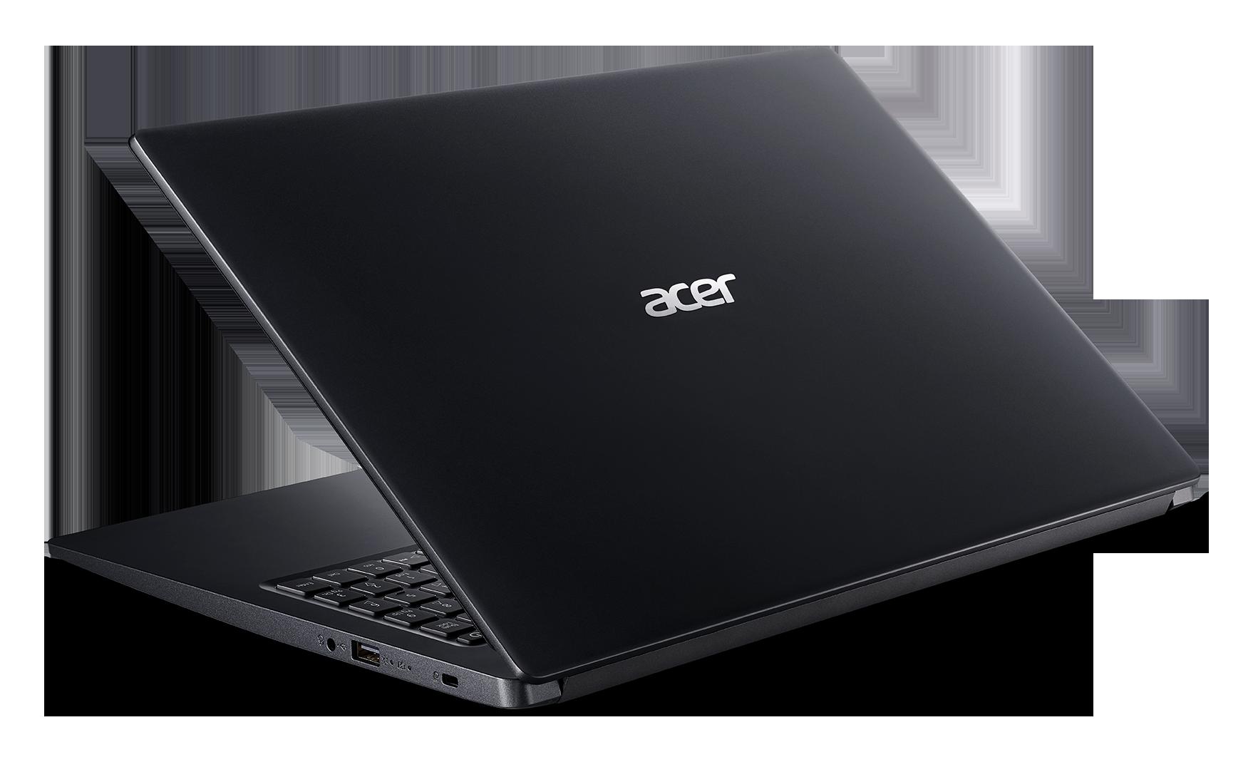 Laptop Acer Aspire 3 A315-56-59XY, Core i5-1035G1(1.00 GHz,6MB), 4GBRAM, 256GBSSD, Intel UHD Graphics, 15.6FHD, WC, Wlan ac+BT, 36Wh, Win 10 Home, Đen(Shale Black),1Y WTY(NX.HS5SV.003) – Hàng chính hãng