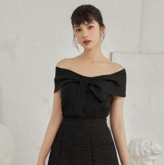 OLV – Áo kiểu Black Tie Off Shoulder Top