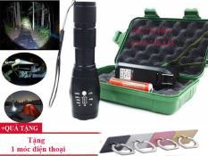 Đèn Pin Mini Siêu Sáng Xml – T6, Bộ Sản Phẩm Đèn Pin Mini Siêu Sáng Xml – T6 Cao Cấp, Tiện Lợi 5 In 1 Chiếu Sáng Trong Nhiều Giờ