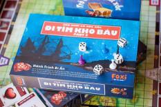 Trò Chơi Súc Sắc-Trò chơi trẻ em đi tìm kho báu Foxi phần 2 siêu hấp dẫn, phát triển tư duy toàn diện