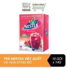Trà việt quất và hoa atiso đỏ Nestea (10 gói x 14g)