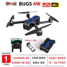Máy bay Flycam MJX BUGS 4W PRO, Camera 4K Gấp Gọn Cảm Biến Bụng – Hãng phân phối chính thức