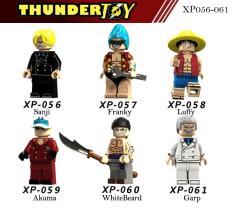 Đồ chơi lắp ráp Mini Figure nhân vật One Piece team luffy