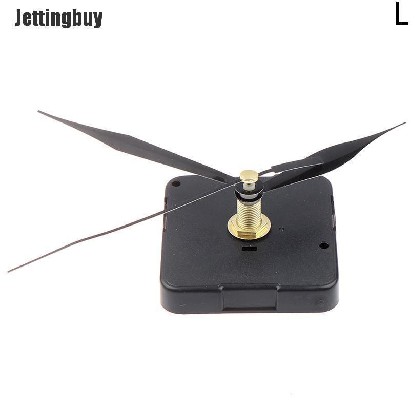 Jettingbuy DIY Cơ Chế Đồng Hồ Cơ Chế Chuyển Động Im Lặng Công Cụ Thay Thế Trang Trí Nội Thất