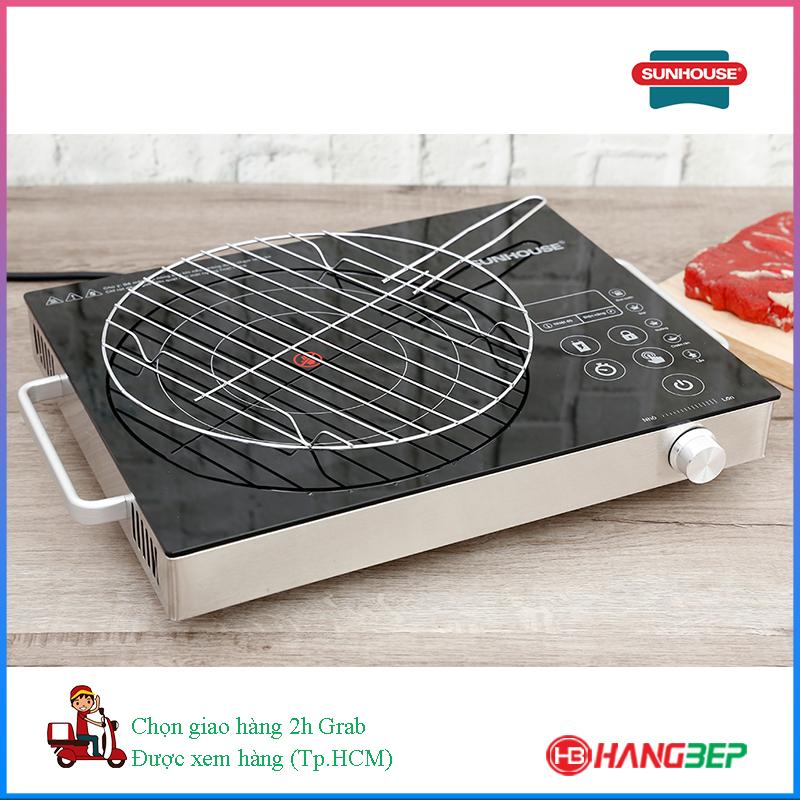 Bếp hồng ngoại cảm ứng Sunhouse SHD6017 + Vỉ nướng kèm