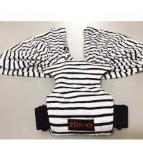 Địu vải sling cho bé S-Siêu Tiết Kiệm màu Nâu – Trải nghiệm thương hiệu Cao Cấp 2Em.vn