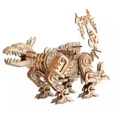 Đồ chơi gỗ lắp ráp 3D- mô hình Robot Khủng Long Ravage – 140 mảnh ghép-cắt laser