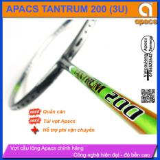 Vợt cầu lông Apacs Tantrum 200 (3U) | Vợt huyền thoại Apacs, cân bằng công thủ