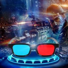 Kính 3D xanh đỏ dùng xem phim 3D, 4D, 5D trực tiếp trên tivi – máy tính – điện thoại