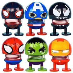 (RẺ VÔ ĐỊCH) – Thú nhún lò xo siêu anh hùng Marvel CÓ ĐÈN NHÁY siêu ngầu – Con lắc lò xo – Thú Nhún Emoji Lò Xo Avengers Endgame Siêu Anh Hùng – Giao mẫu ngẫu nhiên
