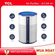 【Siêu lọc bụi bẩn】Máy lọc không khí TCL KJ120F-A1 – Kích thước phòng 20m² – Bộ lọc Hepa H13 – Bộ lọc 3 lớp – Loại bỏ bụi bẩn trong nhà – Tiếng ồn thấp – Điều chỉnh với 3 tốc độ quạt và đèn màu xung quanh, khóa trẻ