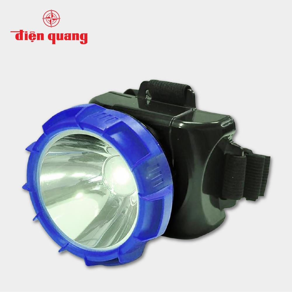 Đèn Pin Đội Đầu Điện Quang ĐQ PFL12 R BLB (Đen - xanh dương)