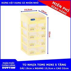 Tủ nhựa Duy Tân TOMI Mini 5 tầng