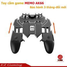 Tay cầm game PUBG, ROS, Freefire hỗ trợ 4 ngón King memo AK66 cực ngầu.