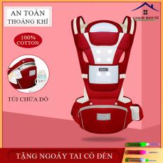 (BẢO HÀNH LỖI 1 ĐỔI 1) Đai địu em bé có đỡ đầu, bệ ngồi và ngăn chứa đồ Aixintu Forbaby cho trẻ 0-36 tháng – Địu ngồi đa năng 9 tư thế chất liệu thông thoáng, an toàn và tiện dụng cho mẹ và bé
