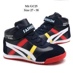Giày Cổ Cao Cho Bé Trai 3 – 12 Tuổi Lót Lông Ấm Áp GC25