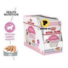 Pate mèo Royal Canin Kitten Loaf 85g – 1 hộp 12 gói