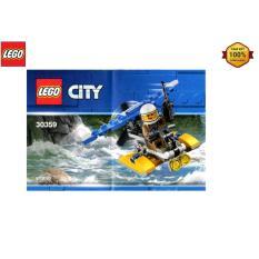 Bộ lắp ráp LEGO City Máy Bay Cảnh Sát Biển 30359