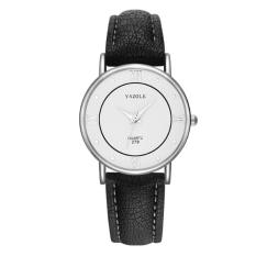 Đồng hồ nữ Yazole 279 dây da sang trọng + Tặng hộp đồng hồ Win Win