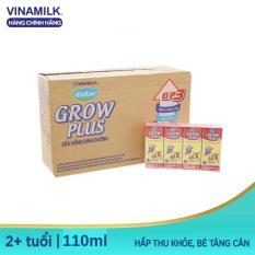 [Trợ ship HCM & HN] Thùng 48 Hộp Sữa Bột Pha Sẵn Dielac Grow Plus – 48 Hộp x 110ml