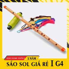 Sáo nứa tone SOL trầm G4 HL59VC, sáo trúc giá rẻ cho người mới tập