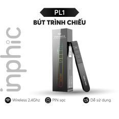 Bút trình chiếu thuyết trình không dây Inphic PL1 USB không dây 2.4GHz Điều khiển từ xa có kẹp tiện dụng – Chính Hãng