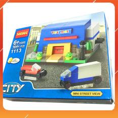 Đồ Chơi Noel – Lắp Ghép Decool City 1113 – Đồ Chơi Trẻ Em Toy Mart