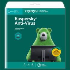 Phần mềm diệt virus Kaspersky Antivirus 1PC