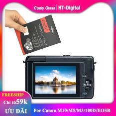 Miếng dán màn hình cường lực cho máy ảnh Canon M10/M5/M3/100D/EOSR