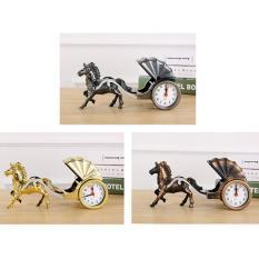 Đồng hồ để bàn ngựa kéo xe