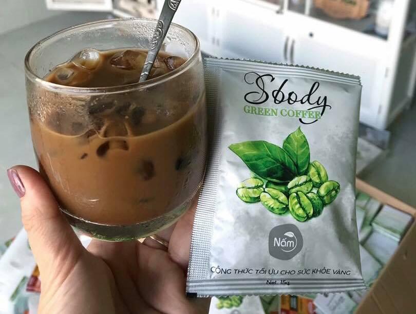 SBODY GREEN COFFEE TRÀ GIẢM CÂN CÀ PHÊ SỮA