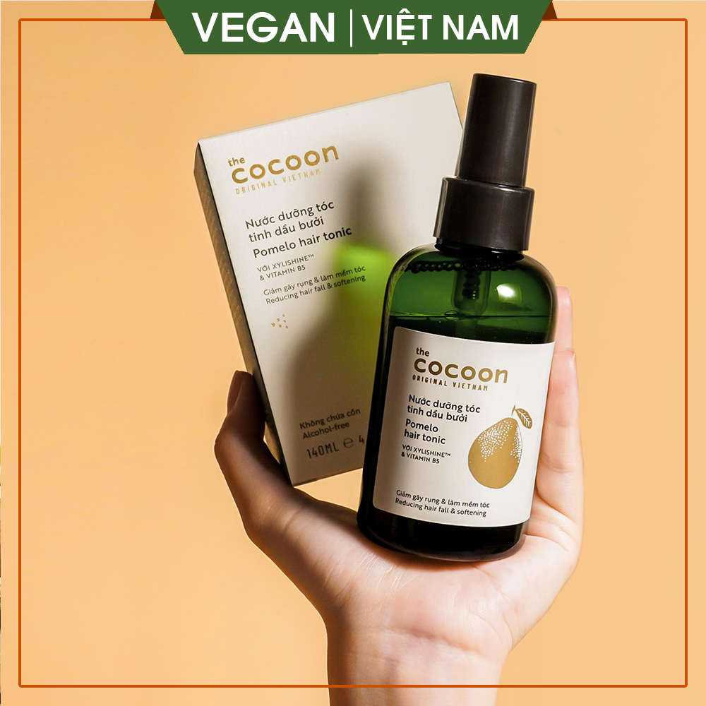 [GIẢM RỤNG TÓC, GIÚP MỌC TÓC ] Nước dưỡng tóc tinh dầu bưởi (pomelo hair tonic) Cocoon 140ml