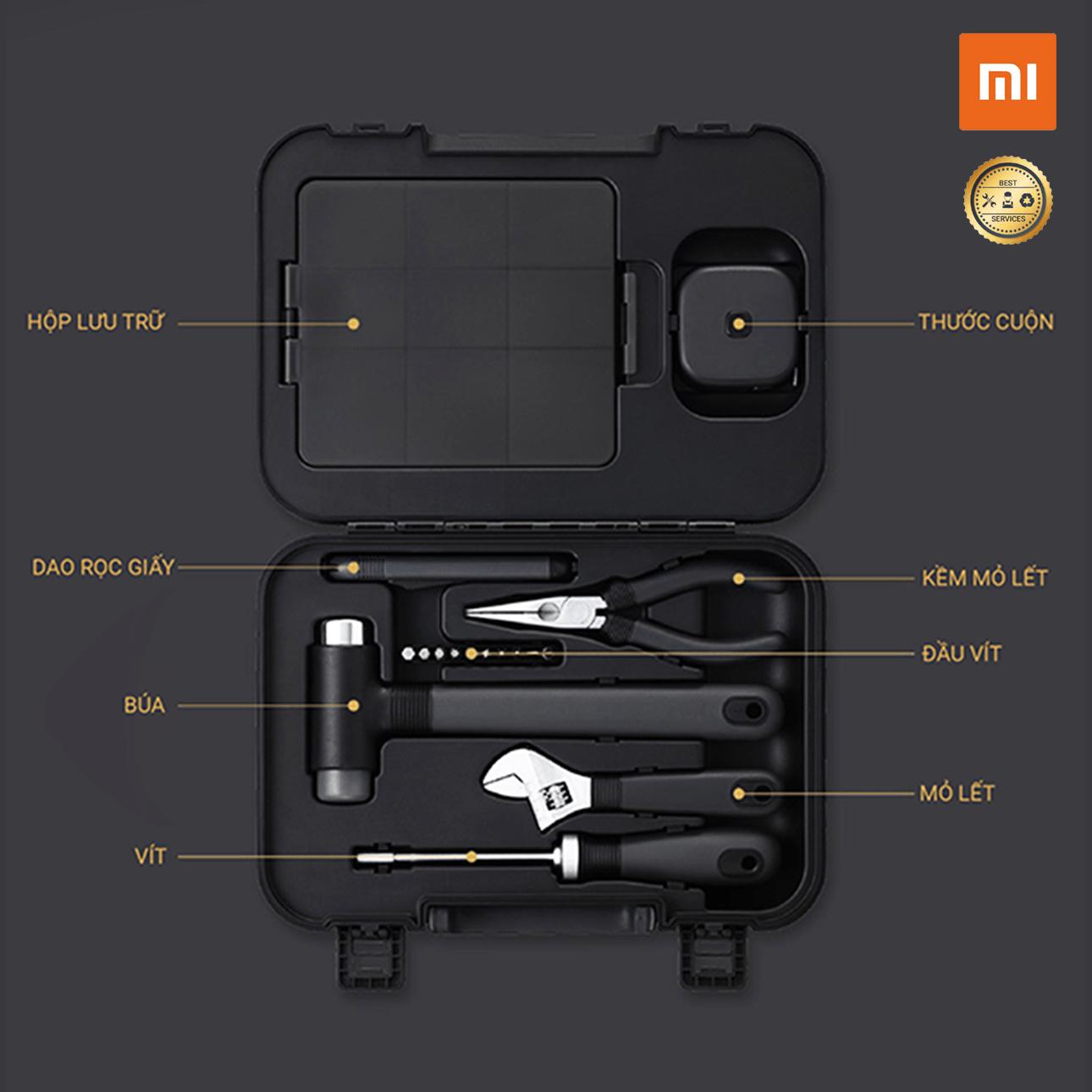 Bộ Dụng Cụ Sửa Chữa Nhà 17 Món MWTK01 Xiaomi Miwu Toolbox