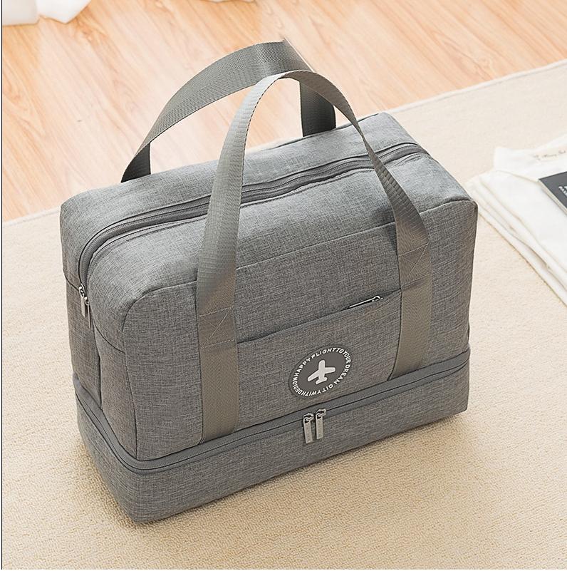 TÚI CHIA ĐỒ, ĐỰNG ĐỒ DU LỊCH CÓ NGĂN ĐỰNG GIÀY (Nhiều màu) – [Túi chia hành lý xách tay, Túi đựng hành lý, Túi đeo vai , Túi xách du lịch, túi đựng hành lý, Túi đựng đồ du lịch]