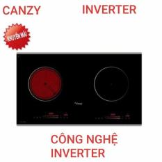 Bếp từ+Hồng Ngoại cao cấp Canzy CZ 06H