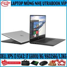 Tuyệt tác với mức giá xa xỉ -Đẳng Cấp Doanh Nhân- Dell XPS 13 9343 ( i7-5500U, 8G, SSD 256Gb, VGA Intel HD 5500, màn 13.3in FHD IPS viền siêu mỏng)