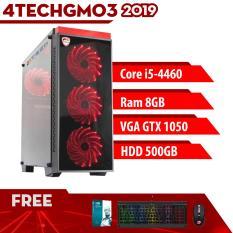 Máy tính đồng bộ PC Gaming 4TechGM03 2019 cấu hình khủng, case Desktop để bàn chiến Games Offline, Online(Đánh nhau, sinh tồn, vui nhộn) chuyên nghiệp Game Fifa, Đua xe/dua xe, Minecraft, audition cả ngày không bị đơ, cài đặt Miễn Phí.