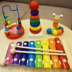 Combo Đồ Chơi Gỗ Cho Bé Yêu✅Đồ chơi AKOIN phát triển trí tuệ thông minh cho trẻ✅Shop Đồ Chơi Trẻ Em Thông Minh✅An Toàn – AKOIN