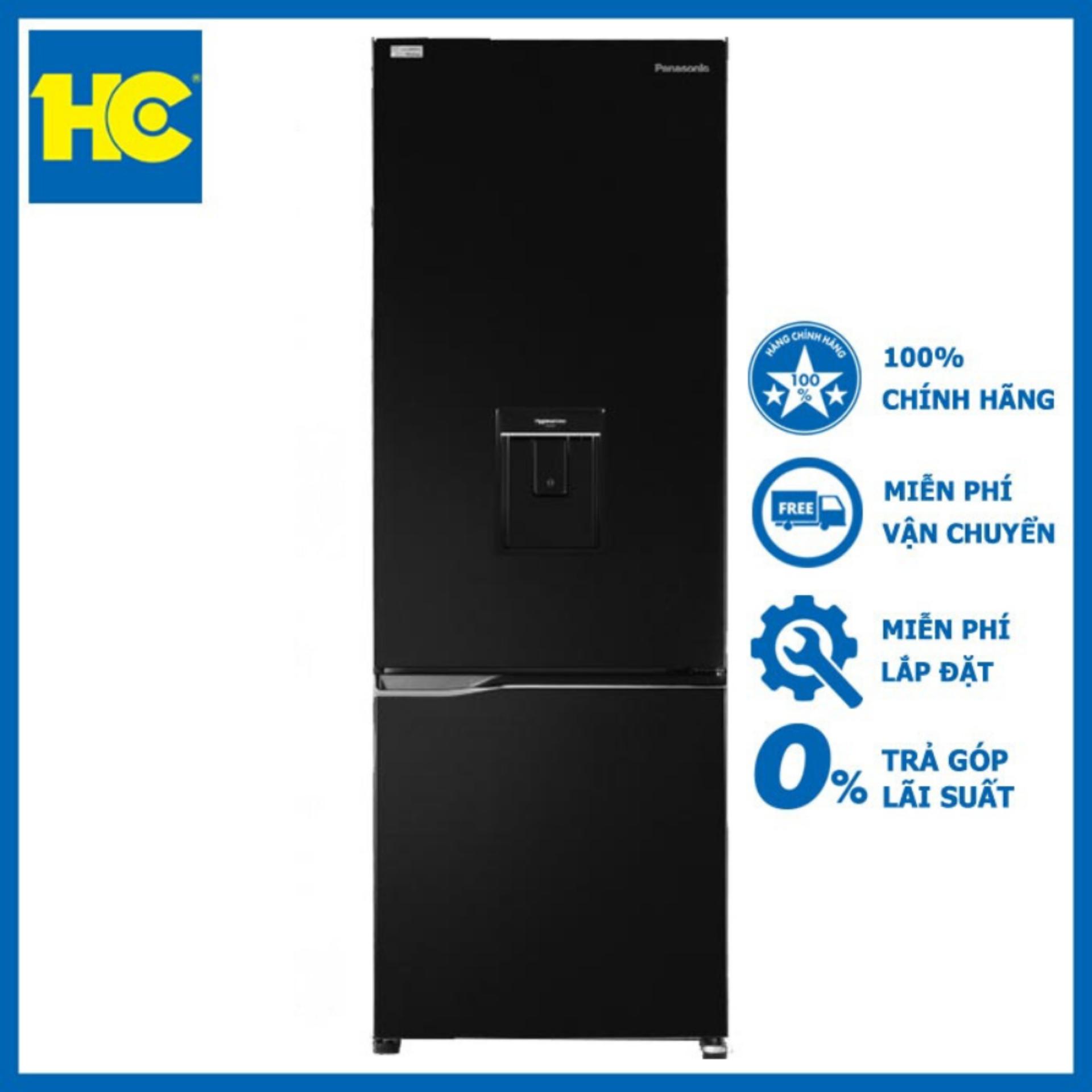 Tủ lạnh Panasonic Inverter 322 lít NR-BC360WKVN – Miễn phí vận chuyển & lắp đặt – Bảo hành chính hãng