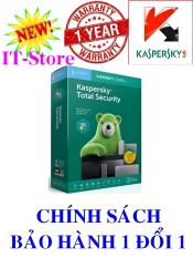 Kaspersky Total Security – 1PC/Năm