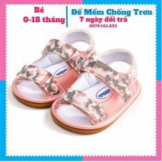 Dép tập đi giày tập đi cao cấp cực ngầu cho bé trai và bé gái từ 0-18 tháng sản phẩm có độ bền cao chất lượng tốt cam kết hàng nhận được giống hình