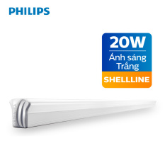 Đèn tường Philips LED Shellline 31172 20W 6500K (Ánh sáng trắng) – Kích thước 1.2m
