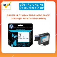 Đầu In HP 72 Gray and Photo Black DesignJet Printhead (C9380A)