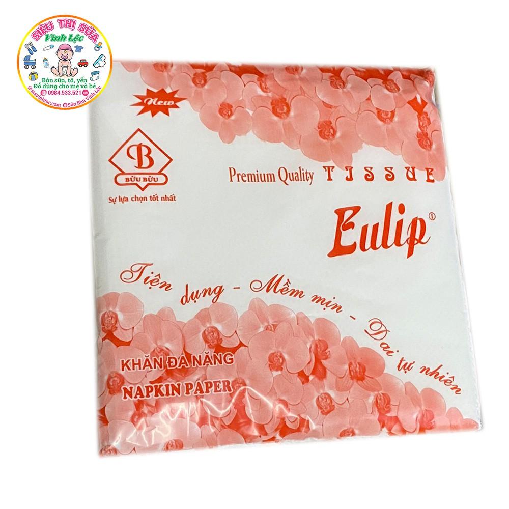 Khăn giấy vuông Eulip/ Khăn giấy khô đa năng