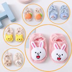 [SET 5] Đôi vớ 3d hình thú ngộ nghĩnh cho bé trai và bé gái, Vớ em bé chất liệu cotton từ 0 -2 tuổi