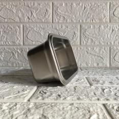Khay inox đựng thực phẩm lưu trữ kho đông lạnh, có nắp. Dung tích từ 600ml – 7.000ml